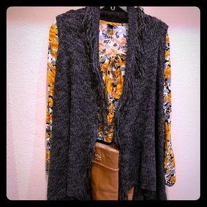 Mossimo black sweater vest